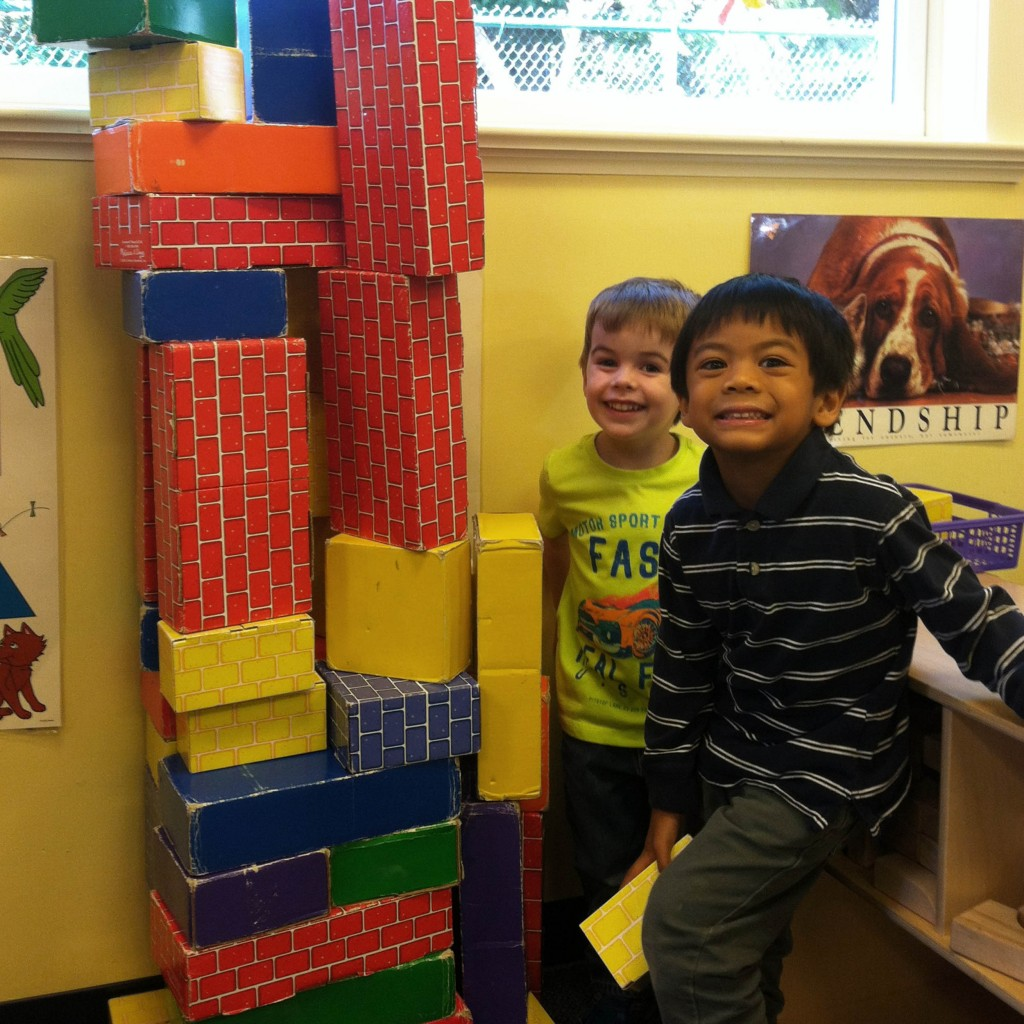 Nursery School Building Blocks - Thursday Morning Club - Madison NJ