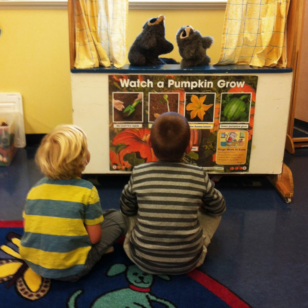 Nursery School Puppet Show - Thursday Morning Club - Madison NJ