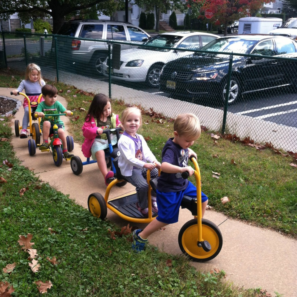 Nursery School Tricycles - Thursday Morning Club - Madison NJ